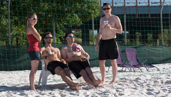 Safetica beachvolejbal;