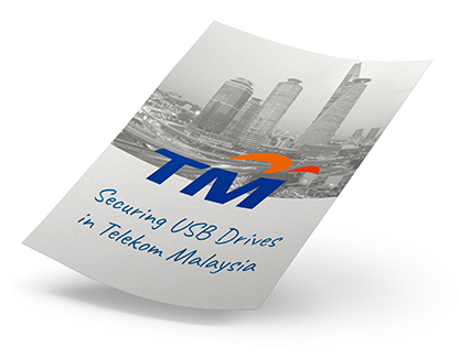 Securing USB Drives in Telekom Malaysia